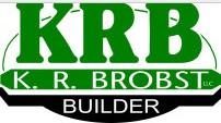 K. R. Brobst Builder Logo